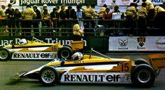1981 Prost y Arnoux Renault Turbo RE20