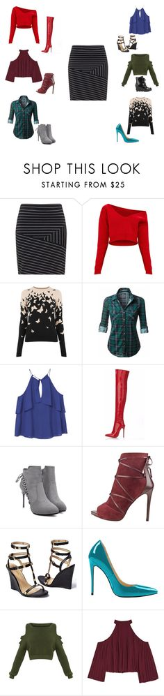 """""""Have it All"""" by jenevieve-elizabeth ❤ liked on Polyvore featuring MANGO, Venus, W118 by Walter Baker and SOREL"""