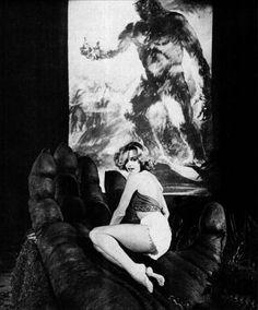 """King Kong"" (1976) Jessica Lange #KingKong #JessicaLange"