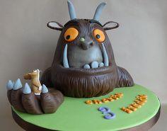 GRUFFALO CAKE   My first cake for twins! Happy birthday boys…   Flickr