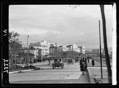 1935 / Yenişehir Bulvarı-nın solunda Devlet Binaları görülüyor
