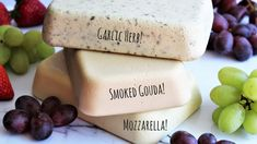 Have you ever wondered how to make vegan cheese? This vegan cheese made with coconut milk with blow you away! Recipes for vegan provolone, vegan mozzarella, vegan smoked gouda, and vegan cheese with garlic and herbs. This cheese is vegan , gluten free, nut free,and soy free so everyone can enjoy it.