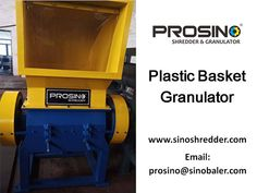 PROSINO brand offers wide options for different kind of plastic size reduction. For plastic basket size reduction solutions, plastic basket shredders and granulators are all ideal options. Inquiry now! Plastic Raw Material, Plastic Baskets, Blow Molding, Pet Bottle, Recycled Bottles, Raw Materials, Raw Material, Recycle Bottles