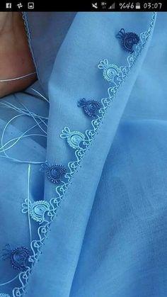 El işi Needle Tatting, Tatting Lace, Needle Lace, Needle And Thread, Crochet Hood, Crochet Lace, Lace Patterns, Embroidery Patterns, Cross Stitch Embroidery