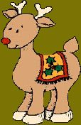 REINDEER FUN - This page has reindeer facts and links to many reindeer crafts and activities