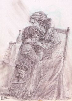 Patience and Fitz - Reunion by Andromeda-Aries on DeviantArt Best Fantasy Series, Fantasy Books, Fantasy Art, Character Creation, Character Art, Robin Hobb Books, Farseer Trilogy, The Fitz, Illustrations