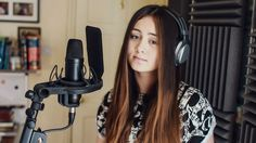 Chandelier - Sia (Cover by Jasmine Thompson) Okay, I know the words are pretty weird. But how this is sung is gorgeous.