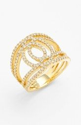 Bony Levy 'Double Interlock' Diamond Cocktail Ring (Nordstrom Exclusive)
