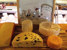 Checking local cheese products at Markthalle Cheese, Food, Products, Regensburg, Meals, Gadget