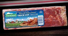 Farmland Bacon Club - FOM- THICK CUT HICKORY SMOKED BACON
