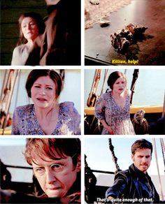 "Belle, Killian and Dr. Jekyll - 6 * 4 ""Strange Case"""