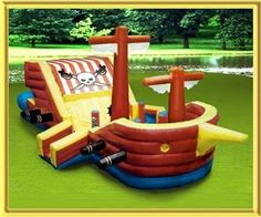 USA Inflatable Rentals and Moonwalk Rentals Party Rental- Mankato, Mankato — black beard ship