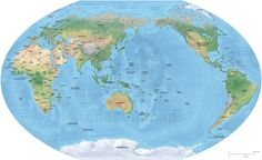 Download asia centered world map world maps pinterest asia center gumiabroncs Images