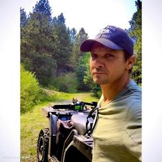 Jeremy Renner getting some piece & quiet @ his home @ 8000 feet North Lake Tahoe