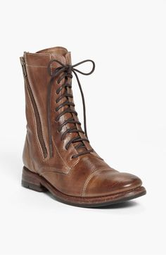 Bed Stu 'Tabor' Lace-Up Boot available at #Nordstrom