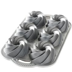 Shop online for Nordic Ware Bundt Muffin Pan - Heritage at Golda's Kitchen; the leading Canadian on-line shopping site for quality bakeware, cookware, and cake decorating supplies. Bundt Cake Pan, Bunt Cakes, Cake Pans, Bundt Pans, Pound Cake, Chocolate Bundt Cake, Hot Chocolate, Chocolate Chips, Memorial Day Foods