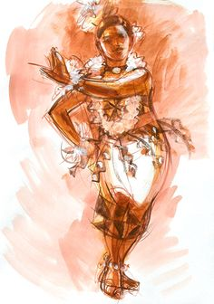 that pacific love: An elegant portrait of a Tongan Tauolunga. A traditional role attributed by a Tongan maiden, performing moves of majestic & graceful nature. Tongan Culture, Polynesian Culture, Polynesian Dance, Hula Dance, Dance Paintings, Hawaiian Art, South Pacific, Art Inspo, Art Girl