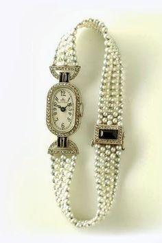 Verger Art Déco Wristwatch - 1920