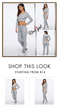 """Activewear"" by lejla150 ❤ liked on Polyvore featuring rosegal"