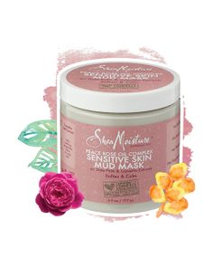 Shea Moisture   Peace Rose Oil Complex Sensitive Skin Mud Mask   $14.99