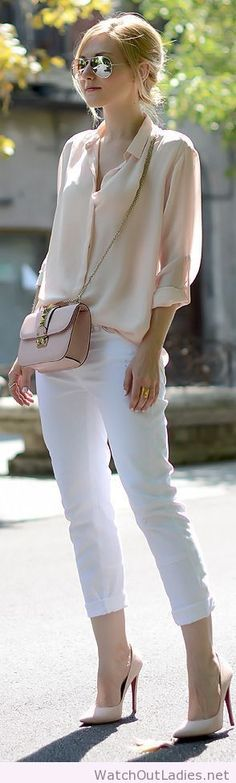 Maje Nude Semi-sheer Chiffon Relaxed Blouse