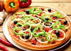 البيتزا بالخضراوات #بيتزا# وصفة-بيتزا