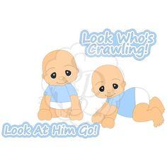 Baby Boy Crawling #2013 #baby #crawling #infant #nursery