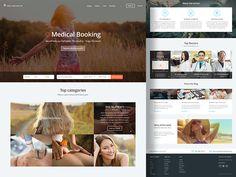 Medical Booking by UIX Republic Popular Marketing Websites, Shots, Web Design, Medical, Popular, Texture, Surface Finish, Design Web, Medicine