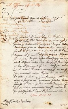 Správa Thesaurariats Sibiu 13. 03. 1804