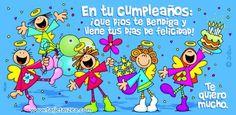 tarjetas de cumpleaños gratis para facebook   En tu cumpleaños: ¡Que Dios te bendiga y llene tus días de ...