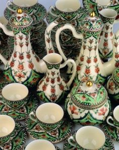 Zsolnay porcelain, from the Zsolnay Family Factory in the southern city of Pécs, is well known for it's outstanding high-quality glaze.