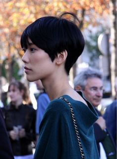 asian girl short hair 2
