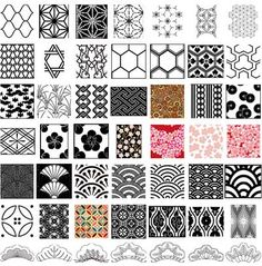 Japanese Geometric Patterns