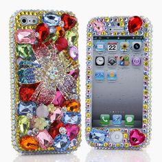 "(( Style # 281)) This Bling case can be made for all iPhone 6 PLUS(5.5"") models. Our professional designers can handcraft a case for you in as little as 2 weeks. Click image for direct link"
