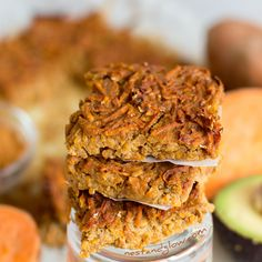 This sweet snack combines sweet potato, quinoa and cinnamon. It's not quite cake and a bit too squishyto call bread…