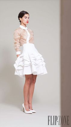 Hussein Bazara Spring 2014 Ready-to-Wear