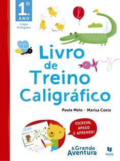 LIVRO DE TREINO CALIGRÁFICO 1º ANO