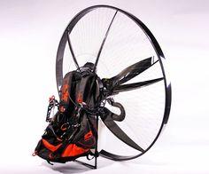 SCOUT Carbon Paramotor | DudeIWantThat.com