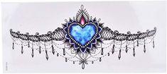 tattoos for women private parts Juwel Tattoo, Throat Tattoo, Tattoo Hals, Arm Band Tattoo, Tummy Tattoo, Tribal Rose Tattoos, Diamond Tattoos, Skull Tattoos, Body Art Tattoos