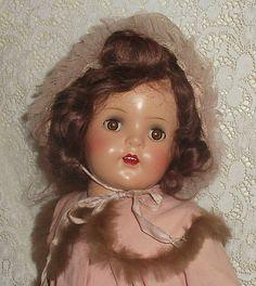 "Madame Alexander PRINCESS ELIZABETH 20"" composition original clothes BEAUTIFUL"