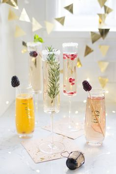 New Year's Eve Champagne Bar | Freutcake