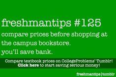 #freshmantips