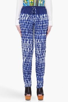 // thakoon silk pants