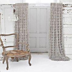 Couture Dreams Chichi Solid Sable Window Curtain Ships Free ($200) ❤ liked on Polyvore featuring home, home decor, window treatments, curtains, chocolate curtains, dark brown curtains and chocolate brown curtains