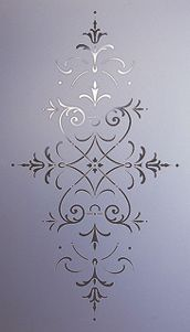 acid etched glass & sandblasted glass available from steven amin glaziers & stained glass studio Etched Glass Door, Acid Etched Glass, Sandblasted Glass, Sand Glass, Glass Art, Stencil, Glass Etching Designs, Patio Door Coverings, Glass Kitchen Cabinet Doors