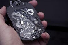 4510eb2ea77 Urwerk UR-1001 Zeit Device pocket watch Fancy Watches