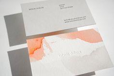 @satsukishibuya + PresshausLA // #watercolor #letterpress