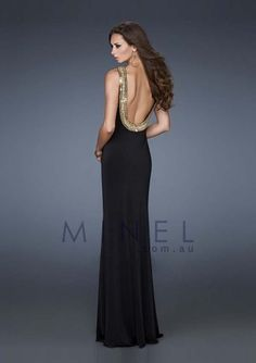 Floor-length Backless Long Formal Dresses