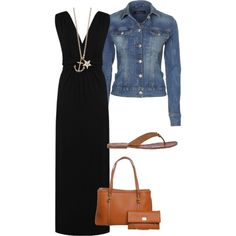 A fashion look from March 2013 featuring knot dress, blue jackets and tan sandals. Browse and shop related looks.