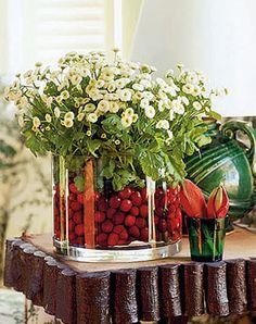 Le Petit Chouchou – floral centerpiece  this web site is fantastic